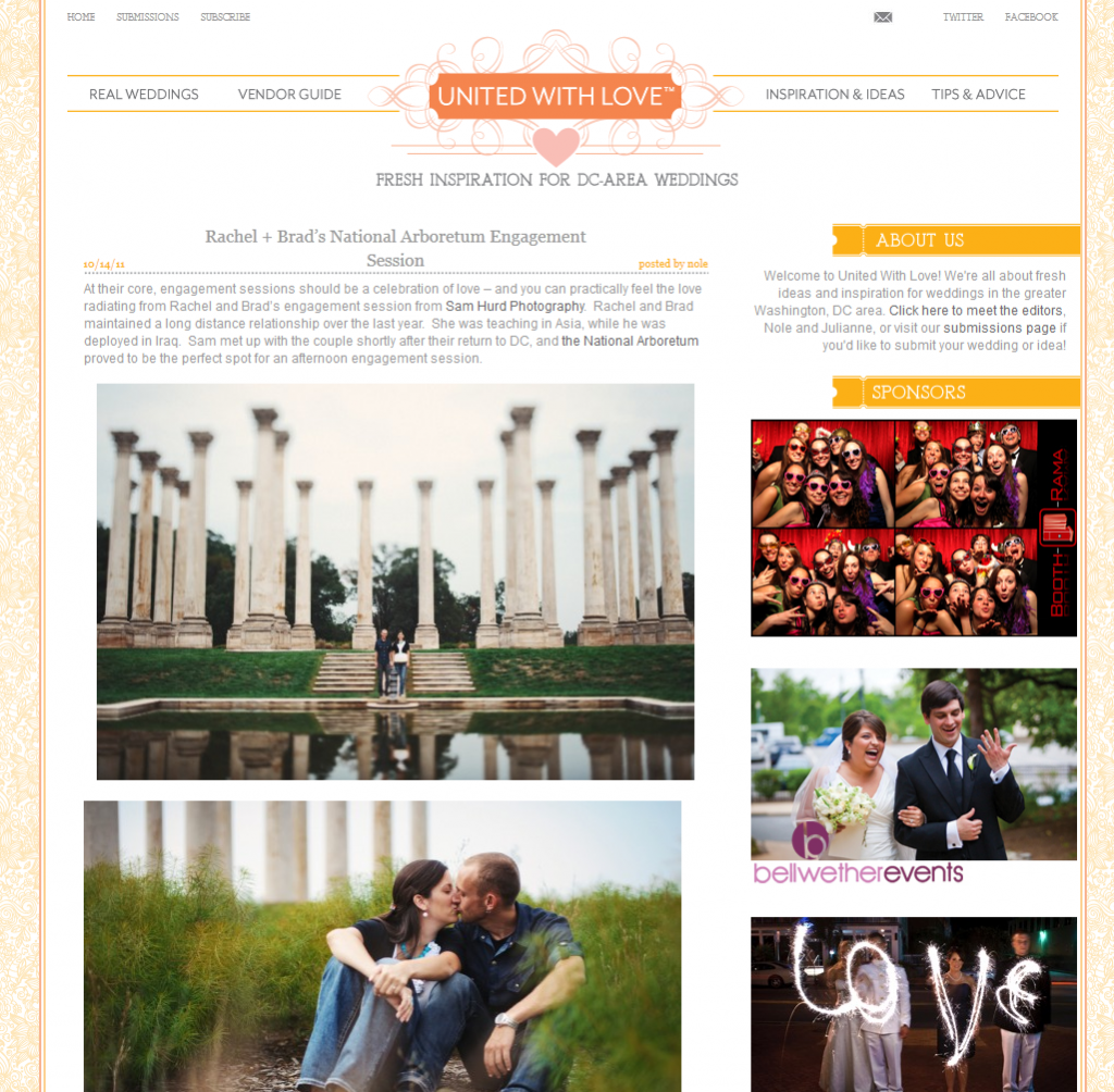 dc engagement photos featured on united with love