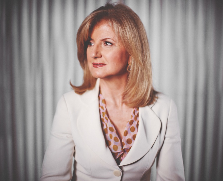 Creative Strobist Portrait of Arianna Huffington by Washington DC Photographer 1