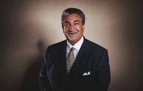 Epic Portrait: Owner of the Washington Caps Ted Leonsis.