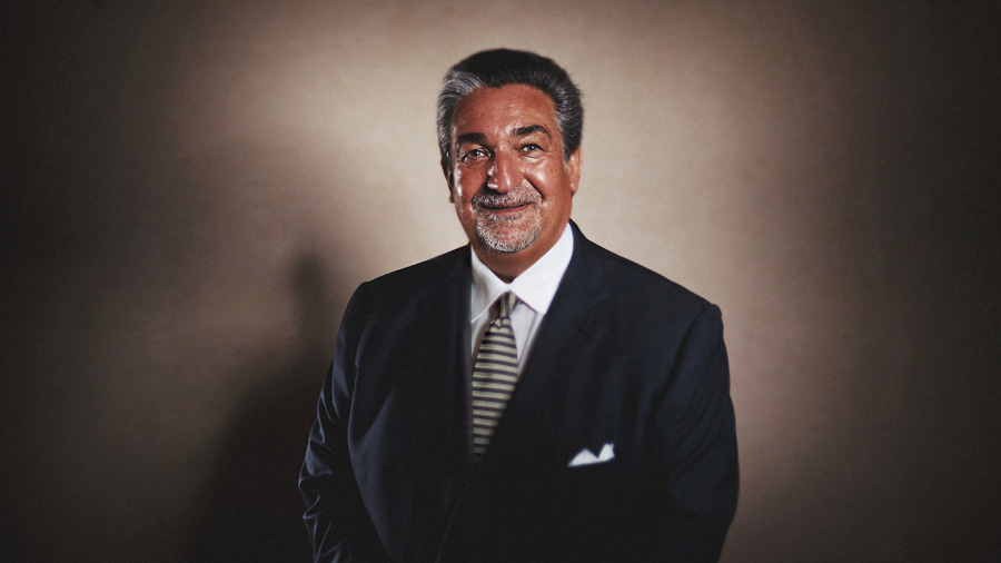 Creative Strobist Portrait of Ted Leonsis by Washington DC Photographer 1