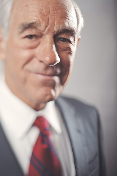 Celebrity Strobist Portrait of Ron Paul, Presidential Candidate 1