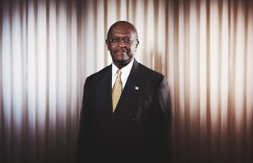 epic portrait // herman cain