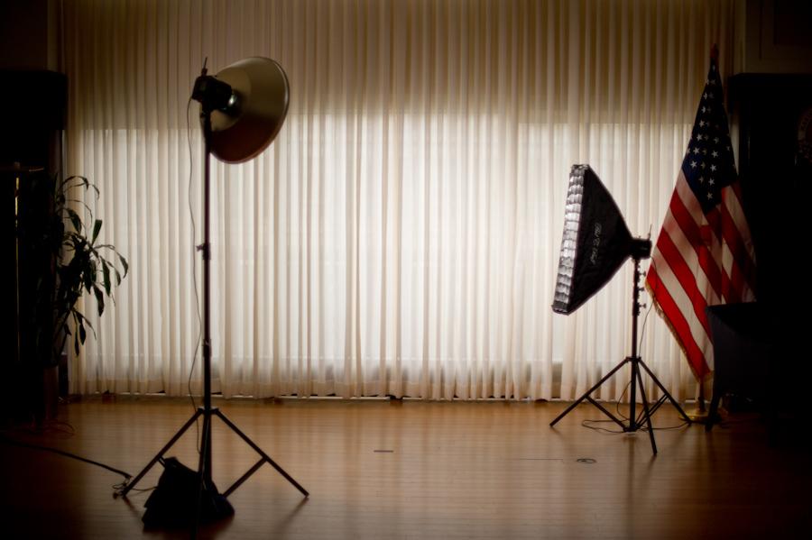 Creative Strobist Portrait of Arianna Huffington by Washington DC Photographer 2