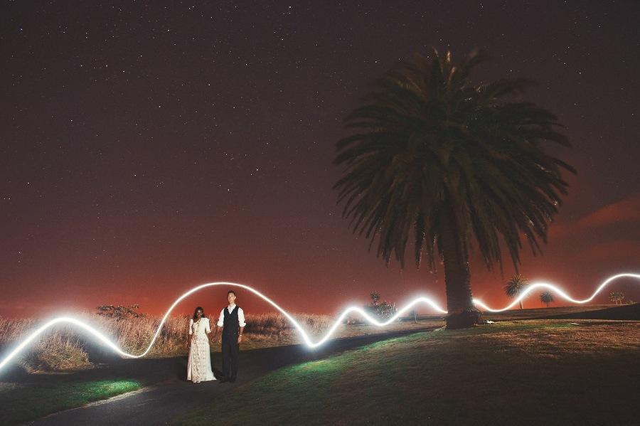 Light Painting Wedding Photography: Sumudu + Mark // New Zealand Wedding Photographer