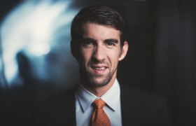 epic portrait \ michael phelps