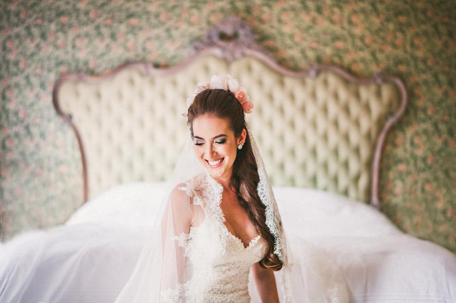 portrait of a bride in brazil