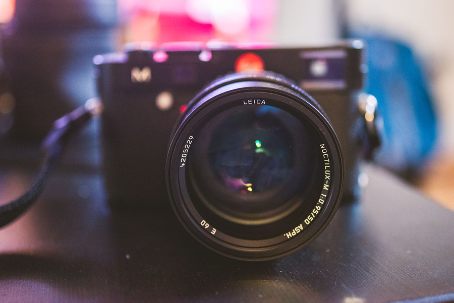 Leica M Type 240 with noctilux 50mm f/0.95