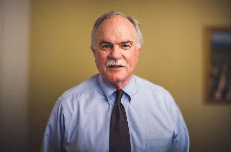 Studio Portrait of a CEO