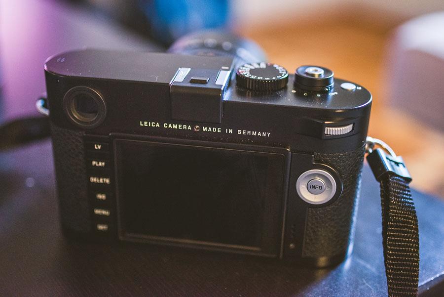 Leica M Type 240 rear