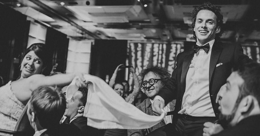 bride and groom candid dancing