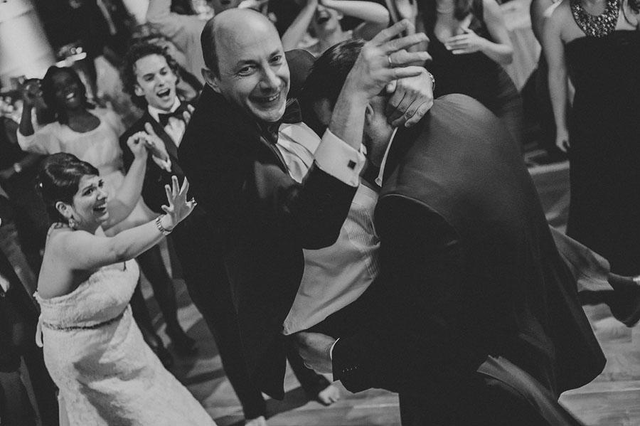 man dancing crazy