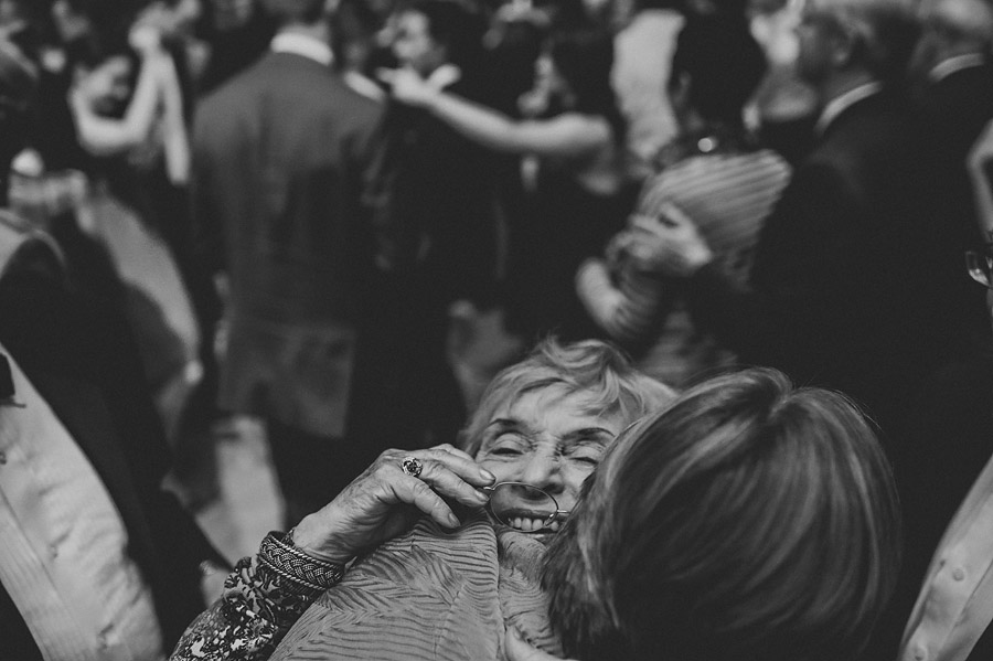 grandma hugging