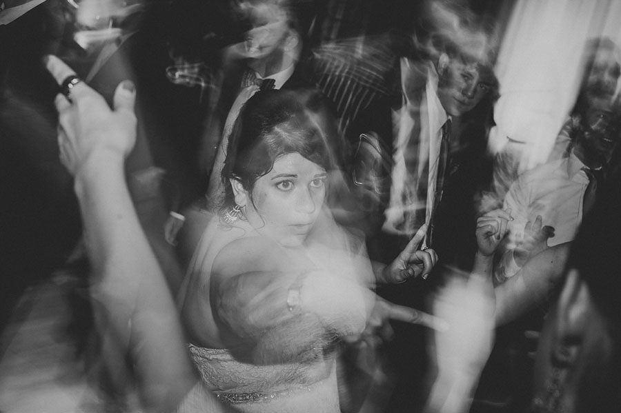 bride dancing abstract