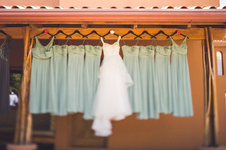 storyboard027 wedding dress and bridesmaid dresses