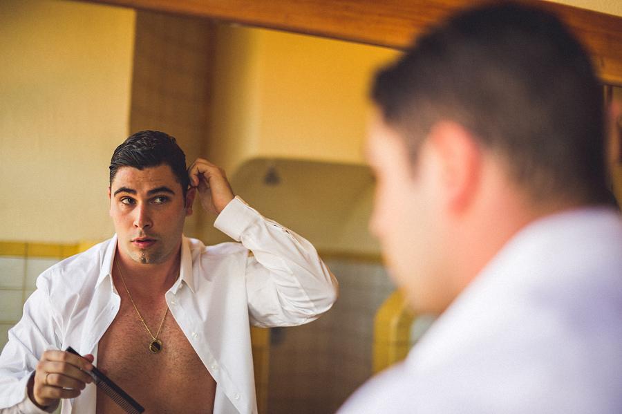 storyboard040 groom getting ready