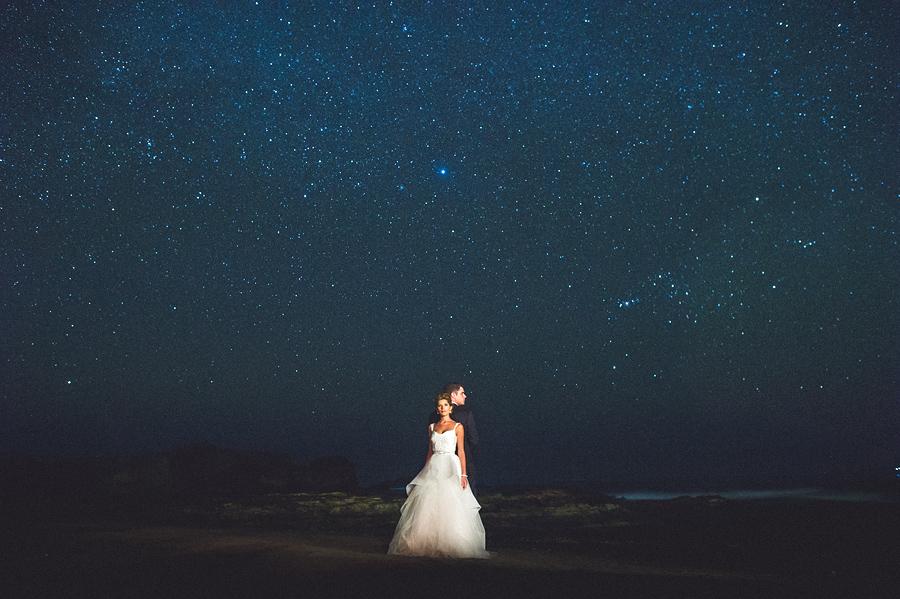 storyboard169 night wedding portrait stars costa rica
