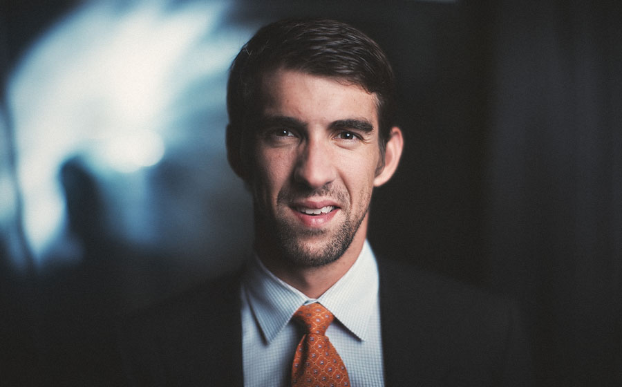 michael phelps portrait