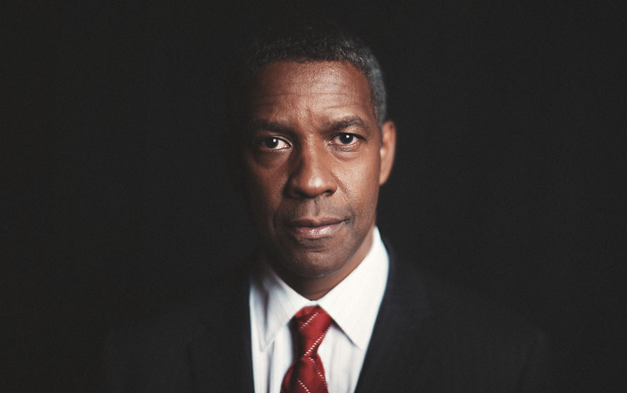 denzel washington portrait
