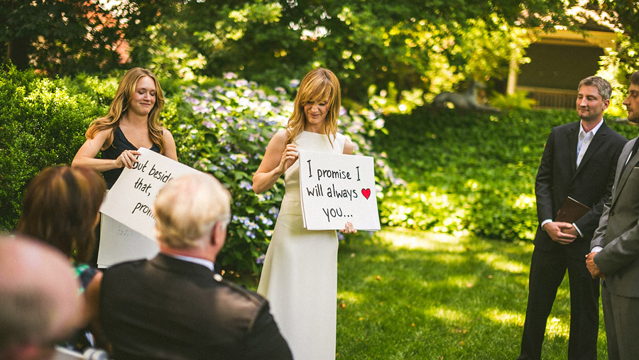 unique wedding vows