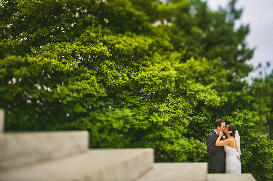 kissing tilt shift wedding photo jpg