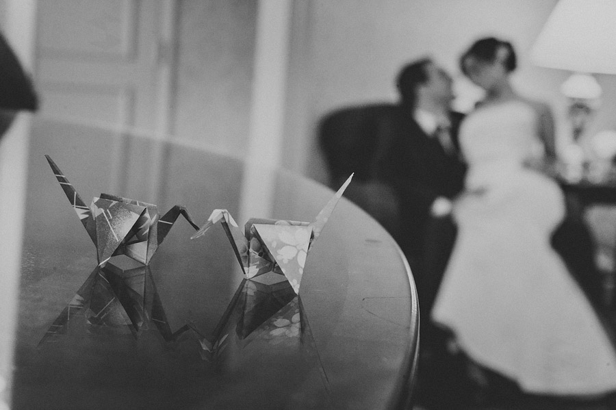 origami wedding photo
