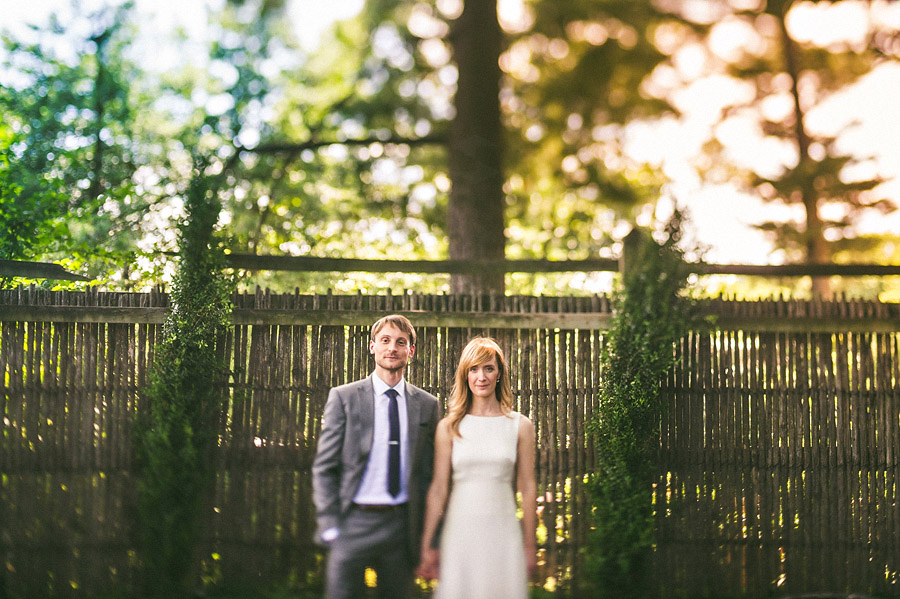 tilt shift wedding portraits