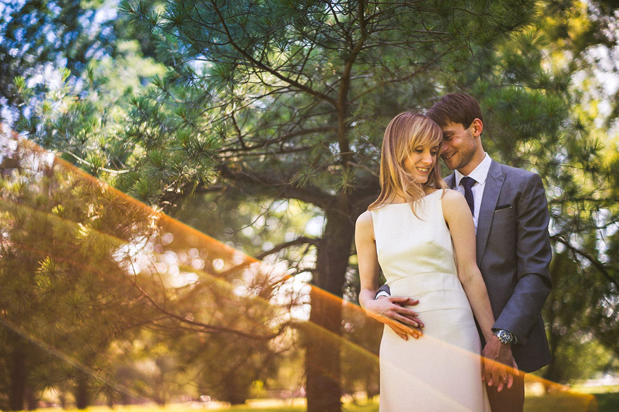 loving happy bride and groom outdoors portraits