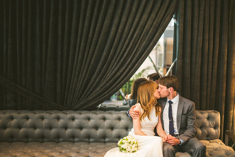 indoor wedding portraits