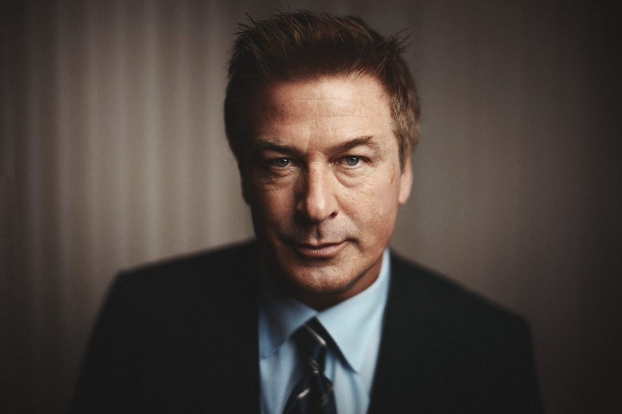 Strobist Portrait of Celebrity Actor Alec Baldwin