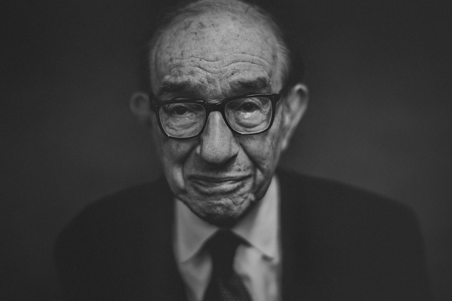epic portrait of alan greenspan