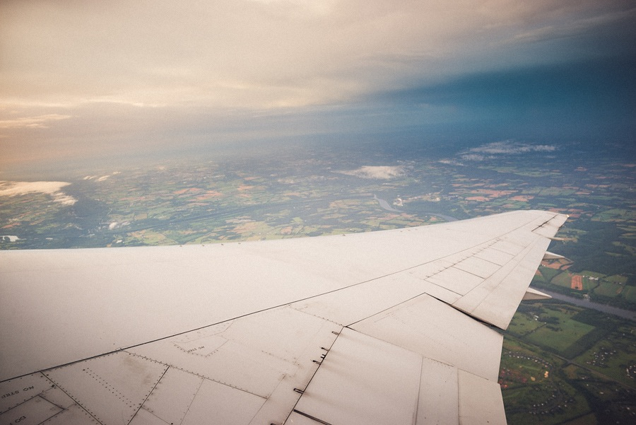 photo from airplane