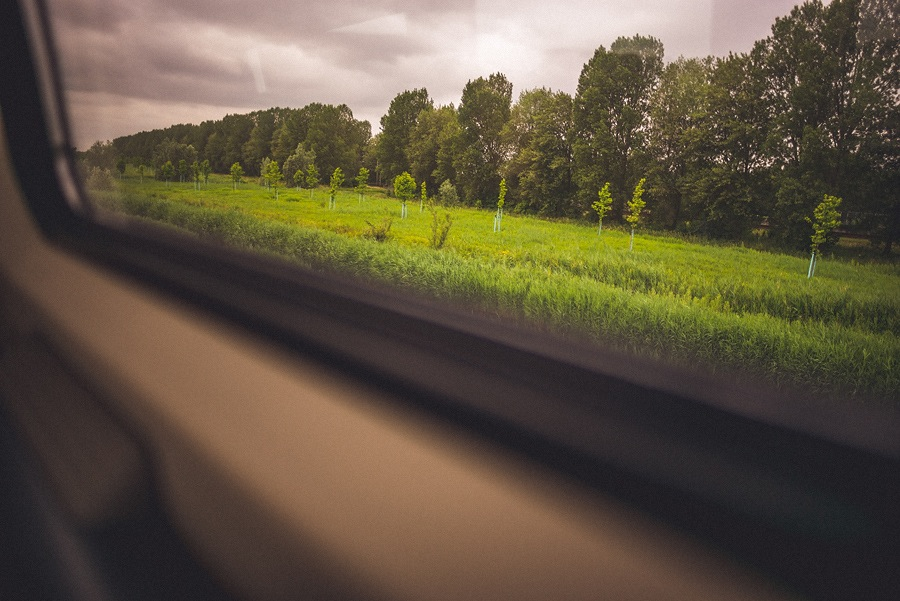 train landscapes in europe