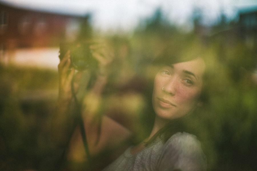 creative reflextion portrait
