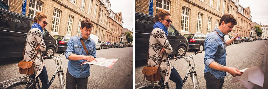 biking in belgium