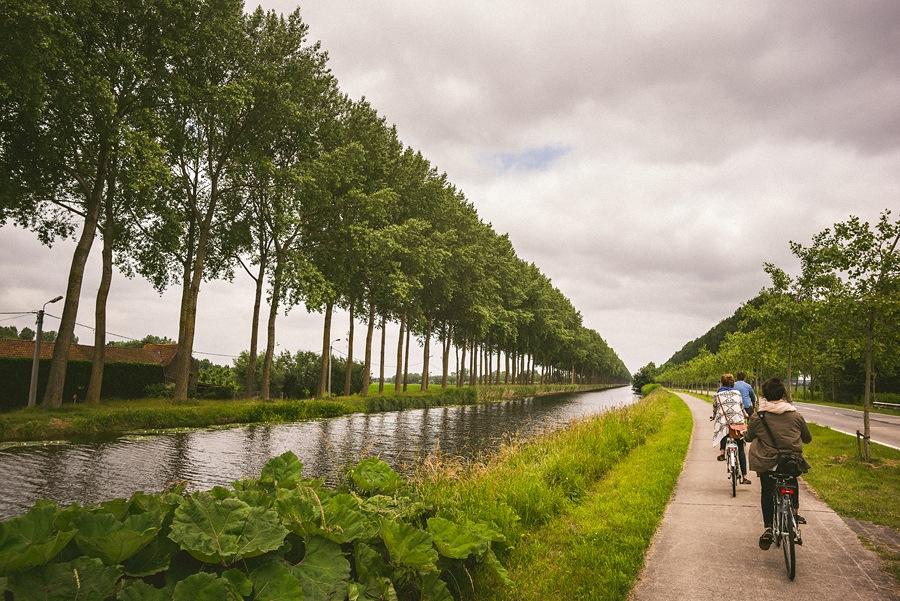 riding bikes in europe