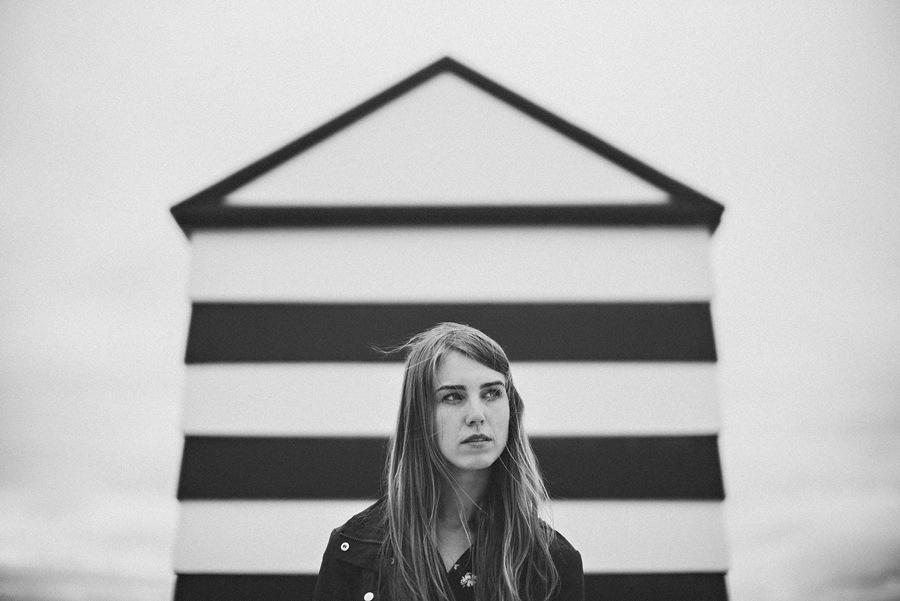 black and white leica portrait