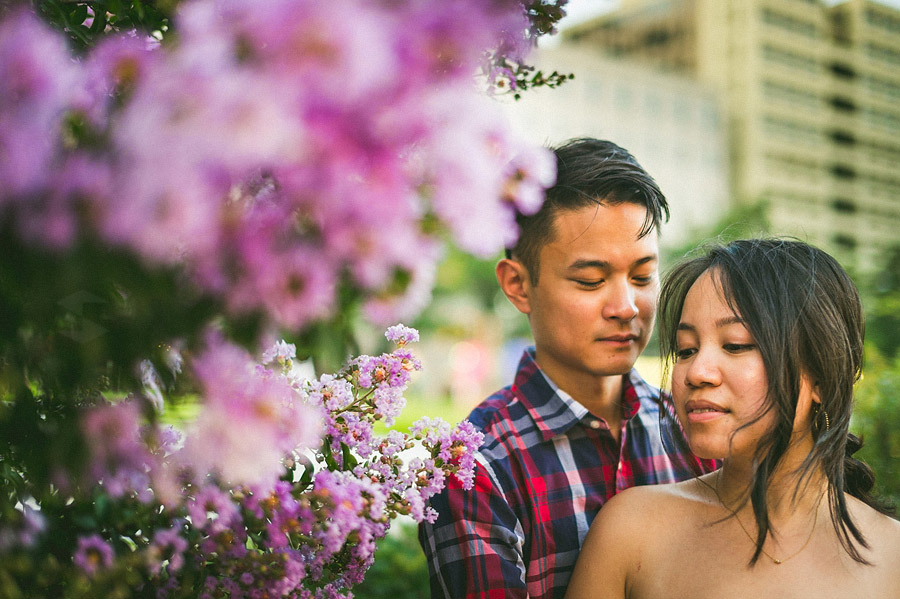 nature in dc mall engagement photo