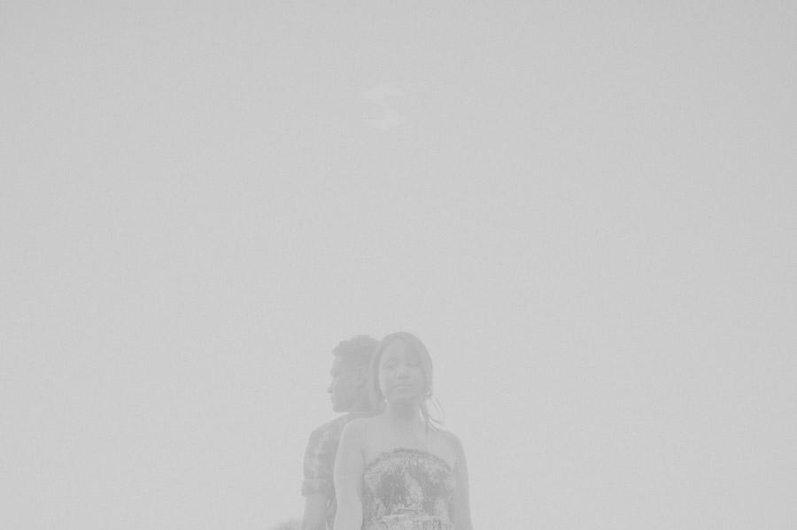 creative black and white photo
