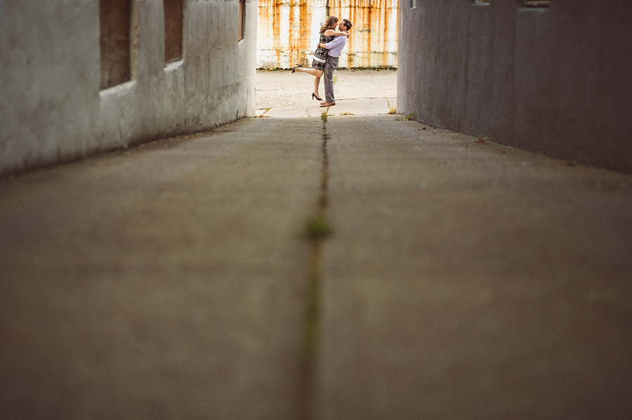 nyc city engagement session