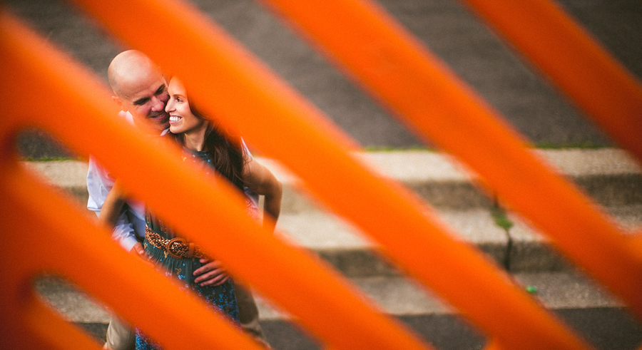 abstract artistic engagement photos in washington dc