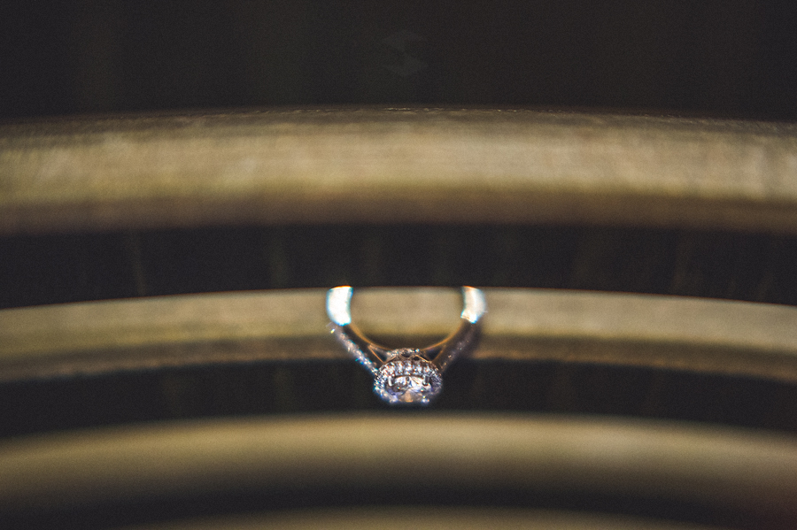 engagement session ring photo