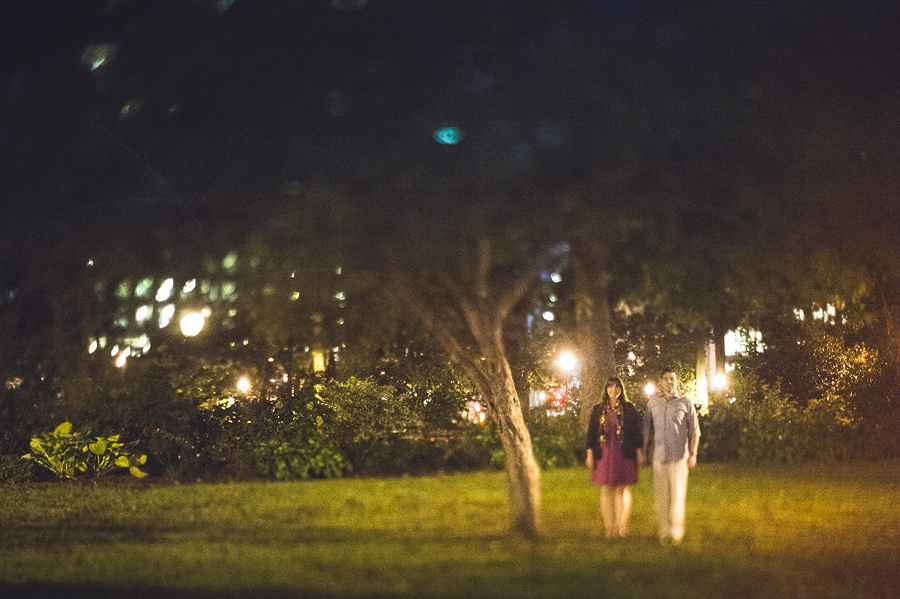 freelensed engagement session portraits