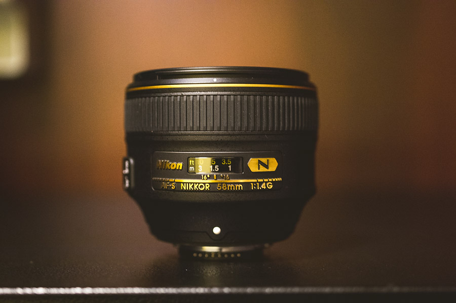 nikon 58mm 1 4 lens review product photo