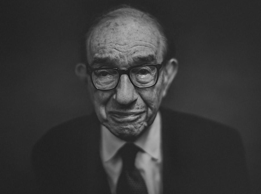 epic portrait of alan greenspan