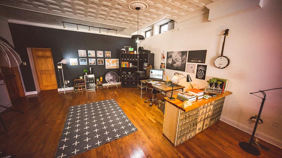 sams office area