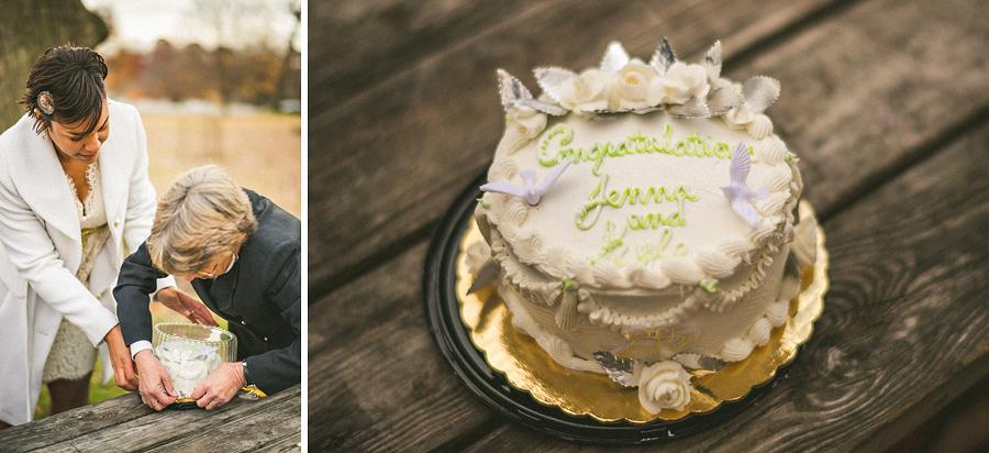 kyle and jennas surprise wedding cake