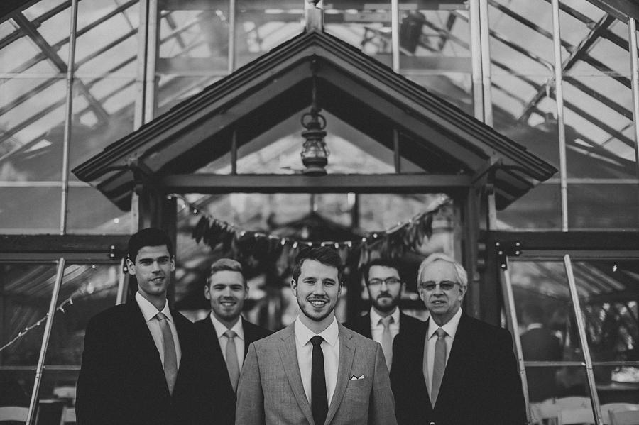 luke with his groomsmen