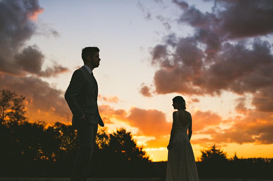 creative sunset photo