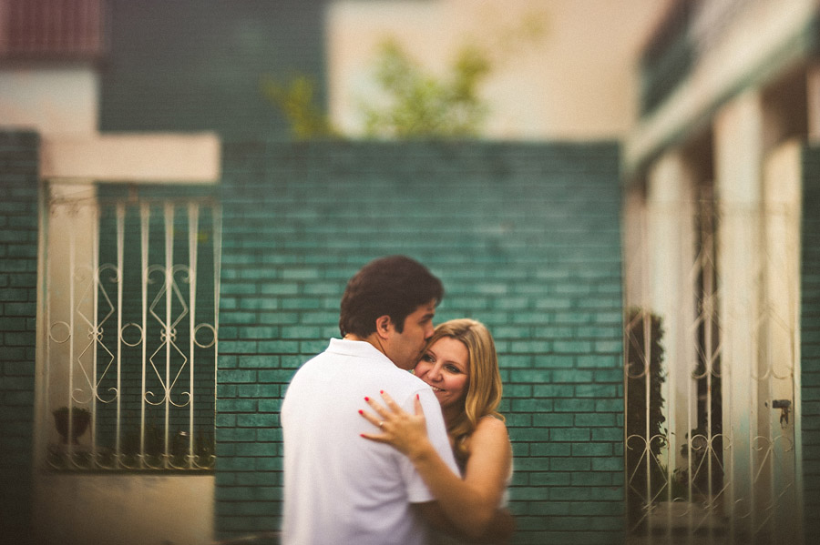 freelensed portrait of man and woman