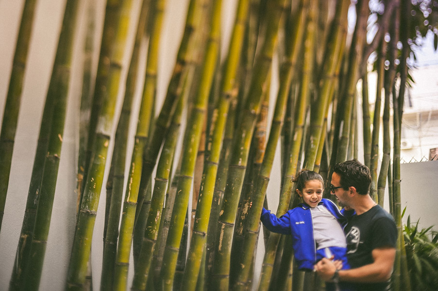 fer with his daughter in his home